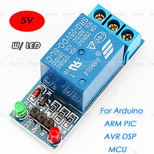 Durable 5V 1 Channel Relay Module Shield W/ LED for Arduino ARM PIC AVR DSP MCU