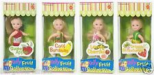 COMPLETE SET KELLY FRUIT COLLECTION APPLES BANANAS CHERRIES STRAWBERRIES NRFB