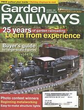 GARDEN RAILWAYS MAGAZINE DECEMBER 2005 VOL 22, NO 6