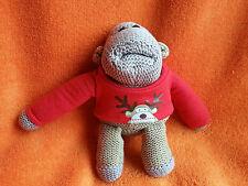 """Happy Natale PG Tips Lavorato a Maglia Beanie giocattolo morbido Monkey 6"""""""