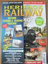 HERITAGE RAILWAY THE COMPLETE STEAM NEWS MAGAZINE ISSUE 128 SEPTEMBER 3 2009