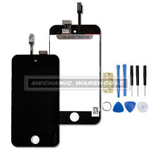 BLACK FOR IPOD TOUCH iTouch 4 4TH LCD TOUCH SCREEN DISPLAY LENS iPod iTouch 4 UK