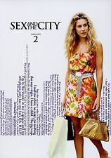 Sex and the City ~ Complete 2nd Second Season 2 Two ~ NEW DVD SET