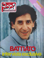 CIAO 2001 52 1982 Battiato Kiss Eddy Money David Johansen ABC Max Roach Rollins