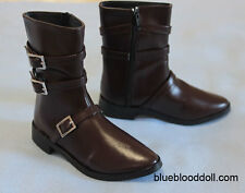 1/3 bjd Iplehouse EID HID male doll huge size brown boots shoes #S-106XL ship US