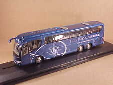 Oxford 1/76 Diecast Scania Irizar PB Excursion Bus, Wilfreda Beehive  #76IRZ002