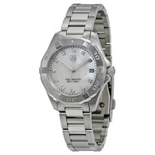 Tag Heuer Aquaracer White Mother of Pearl Dial Steel Ladies Watch WAY1313.BA0915
