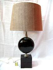 Cool  70´s  Maison Barbier design Paris  table lamp / Tischlampe 81 cm