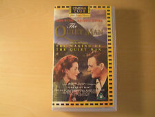MAUREEN O'HARA  - THE QUIET MAN  VHS PAL VIDEO  UK/EUROPE  1993  SIGNED
