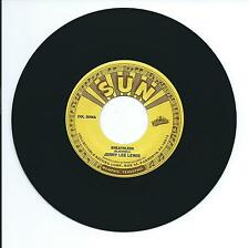 """1958 JERRY LEE LEWIS """"BREATHLESS"""" 45rpm 7"""""""