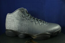 NIKE AIR JORDAN HORIZON LOW PREMIUM DARK GREY METALLIC SILVER 850678 003 SZ 13