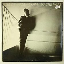 "12"" LP-Tom De Luca-down to the wire-b1554-Slavati & cleaned"