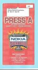 2003 Nokia Sugar Bowl Media/Press Pass Badge Georgia Bulldogs Florida State
