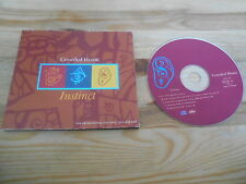 CD Pop Crowded House - Instinct (1 Song) Promo CAPITOL digi