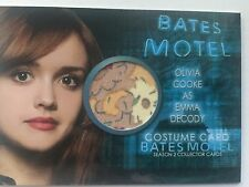 BATES MOTEL Season 2 Olivia Cooke Costume Card COC2