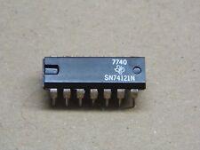 ci SN 74121 N  SN74121N Monostable Multivibrator & Schmitt-trigger input(pla033)