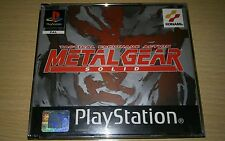 METAL GEAR SOLID PSX PLAYSTATION 1 PS1