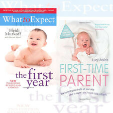 What To Expect The 1st Year 2 Books Collection Set First-Time Parent , NEW