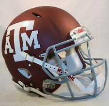 TEXAS A&M AGGIES (MATTE MAROON) Riddell Full-Size Speed Authentic Helmet