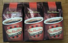 3 Bags Tim Hortons Coffee, Fine Grind 12 oz. ~ Free Shipping