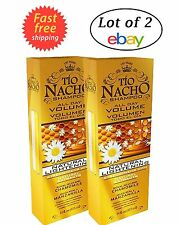 Tio Nacho All Day Volume Natural Lightening Shampoo Royal Jelly Chamomile Lot 2