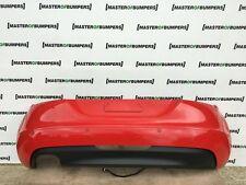 AUDI TT 2.0 TFSI 2006-2014 REAR BUMPER IN RED GENUINE