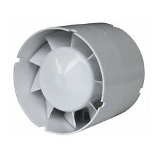 Inline Axial Fan Bathroom Kitchen Toilet Extractor ATC 100VKO 100mm Duct Fan