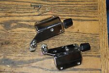 Volvo 140 142 242 Passenger and driver side rear quarter window latches hinges