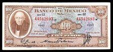 El Banco de Mexico 100 Pesos Serie CZ 27.12.1950, P-55a. XF+