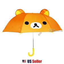San-X Rilakkuma Umbrella with Ears for Kids