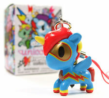Tokidoki UNICORNO FRENZIES Series 2 SCOOTER Zipper Pull Keychain Vinyl Figure
