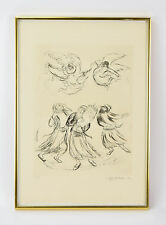 "Ira Moskowitz ""Reaches of Heaven No.18"" Artist's Proof Limited Edition Etching"