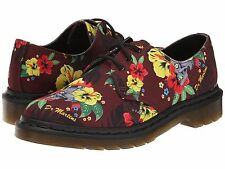 NEW Dr. Martens Lester 3-eye Shoe Cherry Red Hawaiian Punk,  Size 8 (6 UK) $120