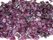 Tourmaline red crystal Nigeria mixed grade 40 carat lots 5-12 MM