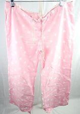Abercrombie Sleep Light Pink Polka Dot Pajama Pants - Misses Large
