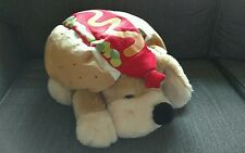 "18"" FAO Schwarz Dog Patrick w/ HOTDOG outfit costume Doggy Puppy Cute"