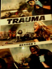 TRAUMA The COMPLETE SEASON ONE All 18 Episodes + Special Features 4-Disc SEALED