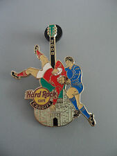 Hard Rock Cafe Cardiff 2008 - Rugby Players Guitar Pin