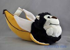 Monkey in a Yellow Banana Plush Stuffed Animal Kelly Toy NWT Cheeky Nana CUTE