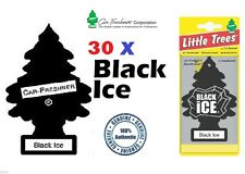 30 X Black Ice Magic poco árbol car/home/van / Oficina de aire ambientador comprar a granel