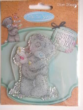 ME TO YOU CLEAR STAMPS - TEDDY BEAR with perfume
