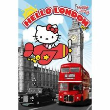 Hello Kitty Poster London Wall Art Decor Print Home Bedroom 61cmx91.5cm 383