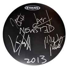 Metallica (Jason Newsted) Signed Autographed Drumhead