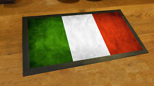 Italian Flag beer Label bar runner counter mat pubs and club