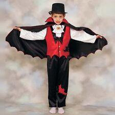 COSTUME DA VAMPIRO DRACULA PER BAMBINO PER HALLOWEEN Carnevale vestito mantello