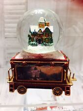 Welcome Family & Friends Wonderland Express Snow Dome Train #13 only  Kinkade