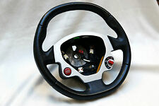 Ferrari F430 599 Black Leather Steering Wheel Lenkrad Volant Volante