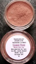MINERAL MAKEUP~5 gm~SWEETSCENTS~BARE~LOOSE POWDER~MICA~BLUSH~VEGAN~COPPER ROSE