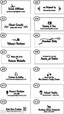 200  CUTE   Personalized Clothing Sewing Labels