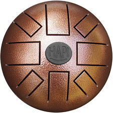 HAPI Mini Steel Tongue Drum in C Major Hand Metal Slit Hank Handpan Tank Drum